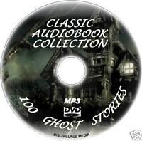 100 CLASSIC GHOST SPIRITS PHANTOMS STORY GREAT AUDIOBOOKS DVD NOVEL BEST SELERS