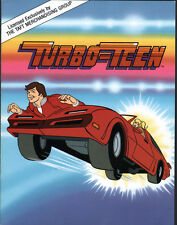 Hanna Barbera Style Guide Plate - Turbo-Teen