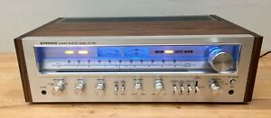 Pioneer SX-750 Receiver - Tested/Serviced, Working. LED's/Walnut Veneer/Recap'd