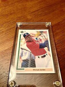 1991 Upper Deck  #SP1 Michael Jordan, Grade Ready Chicago White Sox HOF