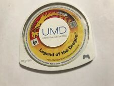 Sony PSP PlayStation Portatile Gioco UMD solo la leggenda del drago