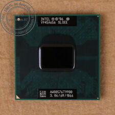 Intel Core 2 Duo T9900 - 3,06 GHz 1066 MHz slgee Socket P CPU per Laptop