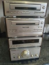 Technics SE-HD51 Micro Component Stack System Fully Working CD Cassette Amp 99p