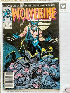 Wolverine #1 (Nov 1988, Marvel) 4 Copies