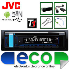 VW Golf 97-04 JVC AUTO ESTÉREO RADIO CD MP3 USB iPod Iphone Aux Control De Dirección