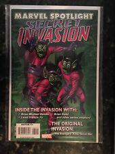 MARVEL SPOTLIGHT: SECRET INVASION (2008 Series) #1 High Grade