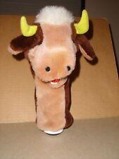 HTF Vintage Fairway Friends by Northwestern Plush Bull Cow Golf Head Cover