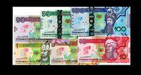 Turkmenistan RARE 1/5/10/20/50/100 Manat 2020 COMMEMORATIVE SET UNC ***