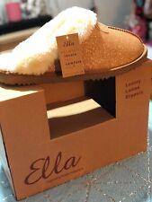 Ella Sparkle Women's Slip On Memory Foam Slippers