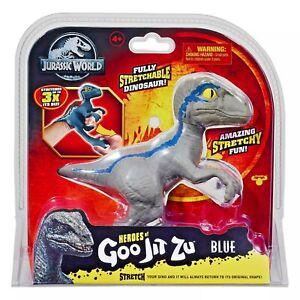 Jurassic Park World Goo Jit Zu VELOCIRAPTOR BLUE Dinosaur