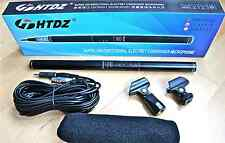 """Professional 14"""" Fotocamera/Videocamera Shotgun Microfono a Condensatore MIC. HTDZ HT-81"""
