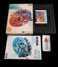 KNIGHTMARE MSX Msx 2 Konami RC739 Konami Complete