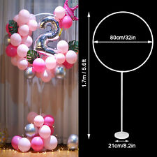 1/2 Set Balloon Column Arch Base Stand Display Kit Wedding Christmas Party Decor