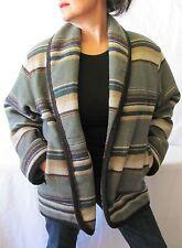 Vintage Woolrich Women's Indian Blanket Coat, Size S
