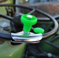 Neon grün SOLUS Traktor Traktoren Lenkhilfe Lenkradknauf UNIVERSAL starr