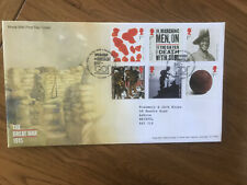 2015 GB Stamps THE GREAT WAR FIRST DAY COVER TALLENTS HOUSE Cancel FDC WWI