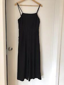 DOTTI, Black Full Length Jumpsuit, Size 10