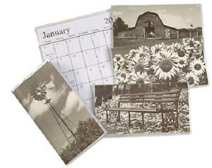 2022-2023 Black & White 2 Year Planner Pocket Calendar *FREE SHIPPING*