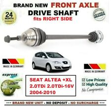 FOR SEAT ALTEA +XL 2.0TDi-16V 2004-2010 NEW FRONT AXLE RIGHT DRIVESHAFT