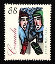Canada #1535 LF MNH, Christmas Carolling Stamp 1994
