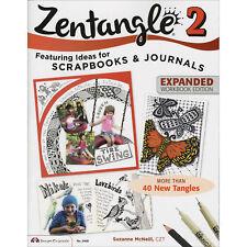 Design Originals Zentangle 2 Ideas Scrapbooks & Journals Expanded Workbook 5468
