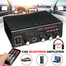 600W bluetooth Audio Stereo Home USB FM SD Digital Amplifier & Remote Control