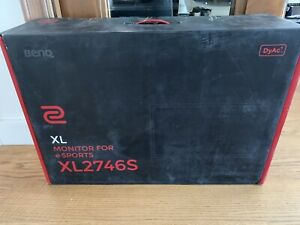 """27"""" Zowie Benq XL2746S FHD Gaming Monitor With Height Adjust"""