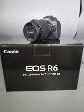 Canon EOS R6 Mirrorless Digital Camera with 24-105mm f/4-7.1 KIT | BRAND NEW
