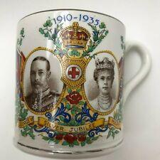Devon Ware 1911 George V & Queen Mary Coronation Commemorative Mug
