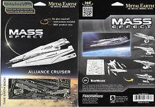 Mass Effect Game Alliance Cruiser Metal Earth 3-D Laser Cut Steel Model Kit NEW