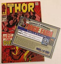 Thor 1st Edition Fine Grade Comic Books