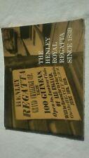 History Henley Royal Regatta rare posters photos illustrations members badge uk