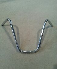 "CHROME BICYCLE V  HANDLE BARS 13.5"" (25.4mm) FOR SCHWINN STINGRAY KRATE"