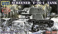 UM Military Technics 402 T-26-1E Soviet light tank 1/72