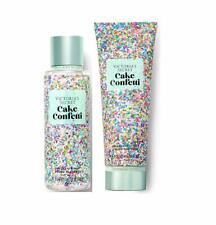 Victoria's Secret Sweet Fix Fragrance Mist and Lotion Set Cake Confetti