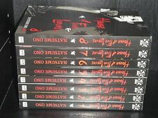 HOUSE OF FIVE LEAVES  Vol.1-8 Books Graphic Novel Manga Comic Lot