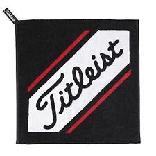 Titleist Hand Towel Black Ajtwh6-bk 34x35cm