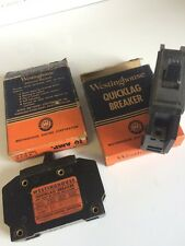 Westinghouse QUICKLAG Breakers 1 419 811 Single Pole 10 Amp 120v Y-55 Vintage Ne