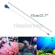 55cm Arcylic Coral Feed Tube Liquid Fertilizer Add Reef Tank Fresh Water Plant