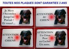 Plaque Panneau Pancarte chien beauceron 3 - Dim 12.5 x 0.75 cm