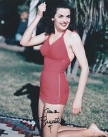 Jane Russell autographed 8x10 photo with COA by CHA