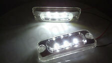 2x White 3LED Cab Roof Marker Lamp Light DAF CF65 CF75 CF85 XF95 XF105 CF EURO 6