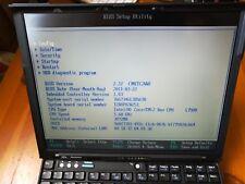 """Lenovo Thinkpad X61s ,12,1"""" L7500 ,3GB RAM ,115GB G.Skill SSD"""