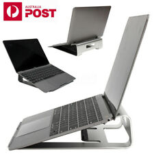 "AU Aluminum Laptop Holder Stand Dock Pad For MacBook & Other 17"" Tablet Notebook"
