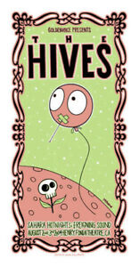 The Hives POSTER Sahara Hotnights Reigning Sound Tara Mcpherson Signed Numbered
