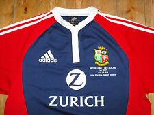 British Lions 2005 Tour Rugby Union Match Détail Broderie away shirt jersey L