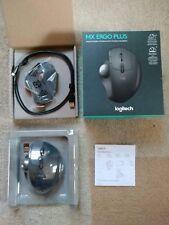 Logitech 910-005178 MX Ergo Plus Wireless USB Trackball Desktop Computer Mouse