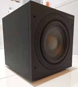 Bowers & Wilkins B&W ASW608 Powered Active Subwoofer Home Cinema Matte Black