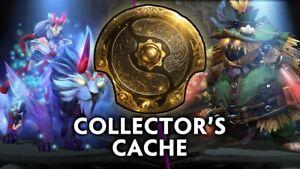 Dota 2 - TI10 Collectors Cache I & II 2020 + Immortal Treasure 1, 2, & 3 SETS