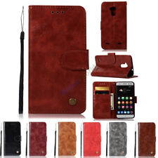 For ZTE Blade V7 LITE / V6 Plus Magnetic Flip Wallet Card PU Leather Case Cover